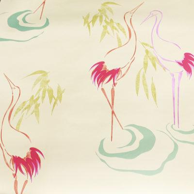 062 Colorful birds kids wallpaper