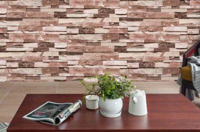 Faux brick wallpaper A22-20P02
