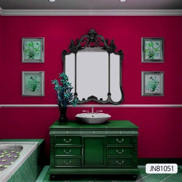 JN 8 1051 Plain red wallpaper