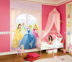 Children's wall murals