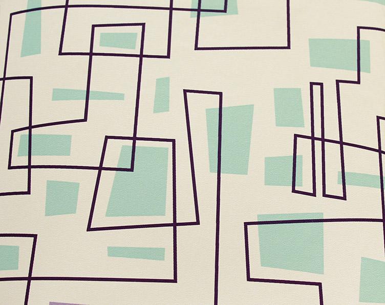 Geometric 3d wallpaper