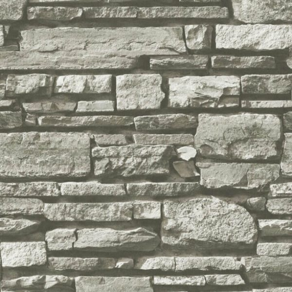 3d grey brick wallpaper