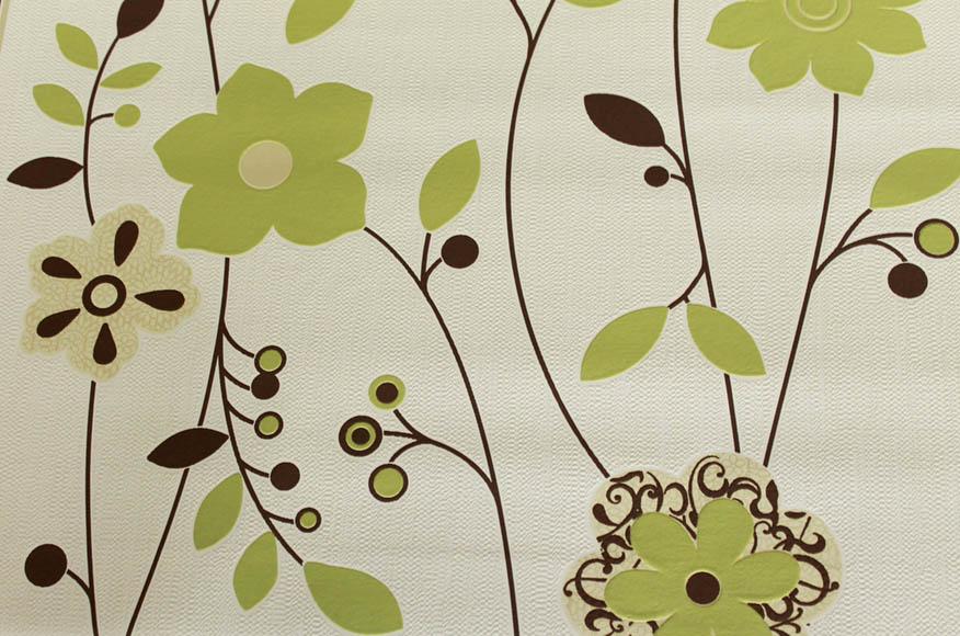 401525 Modern Floral Wallpaper