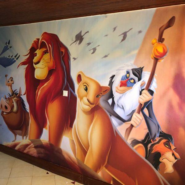 Nana & Lion King Disney Mural