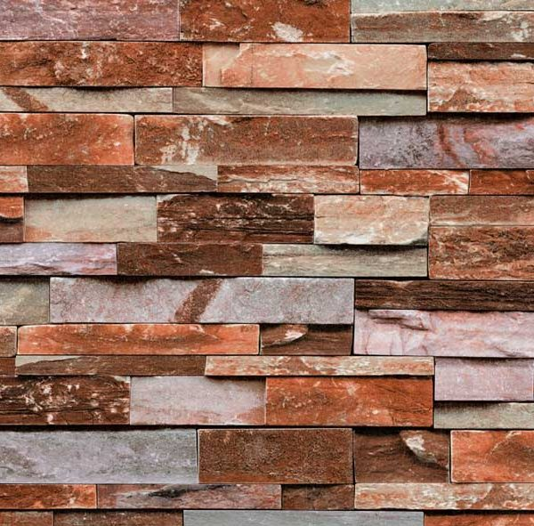A22-20P03 Brick effect wallpaper