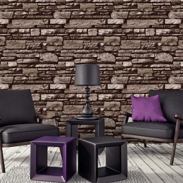 A22-20P33 Textured Brick Wallpaper
