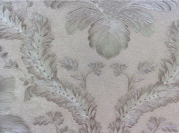 AY-30078 Beige & gold damask