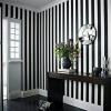 Black & White stripes wallpaper