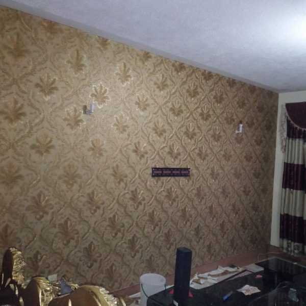 Brown & Gold Wallpaper LCPE 252 5024