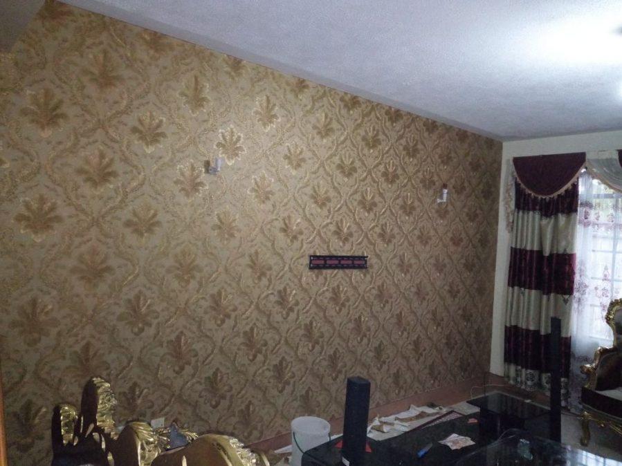 Brown & Gold Wallpaper LCPE 252 5024