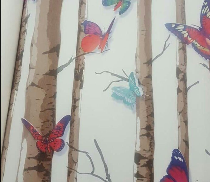 Butterfly wallpaper Design DM01302