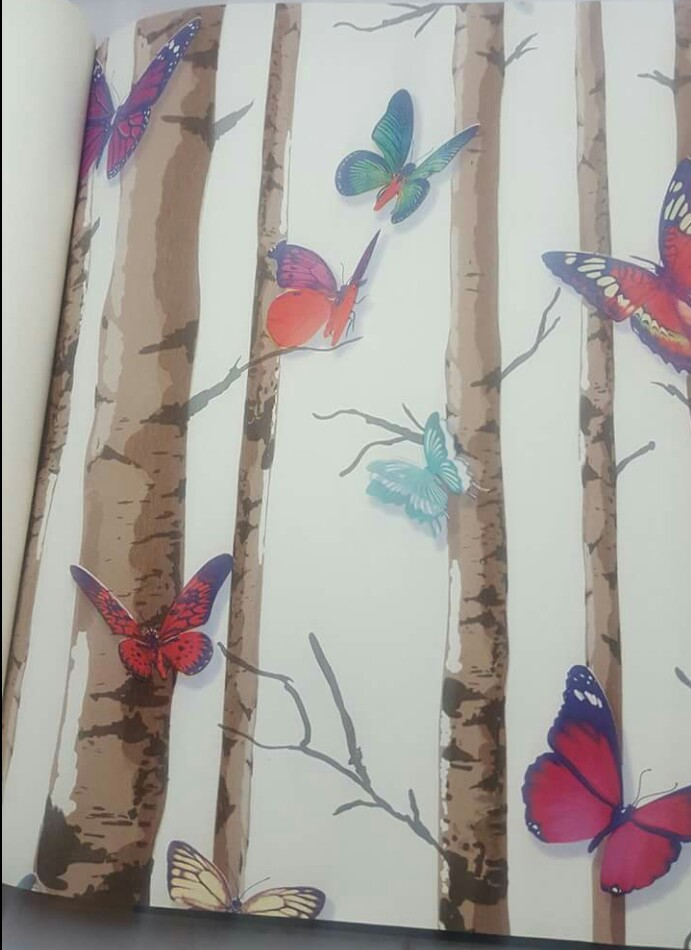 Butterfly wallpaper Design DM01302