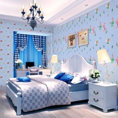 Children S Bedroom Wallpaper Call
