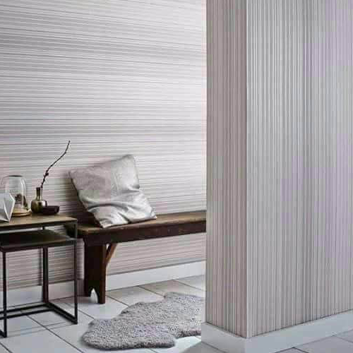 Vertical Pin Striped Wall