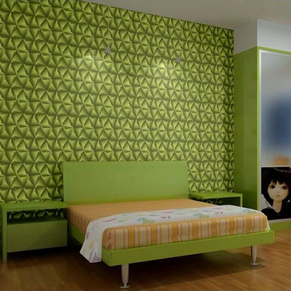 Green 3d wallpaper LCPX155-1104