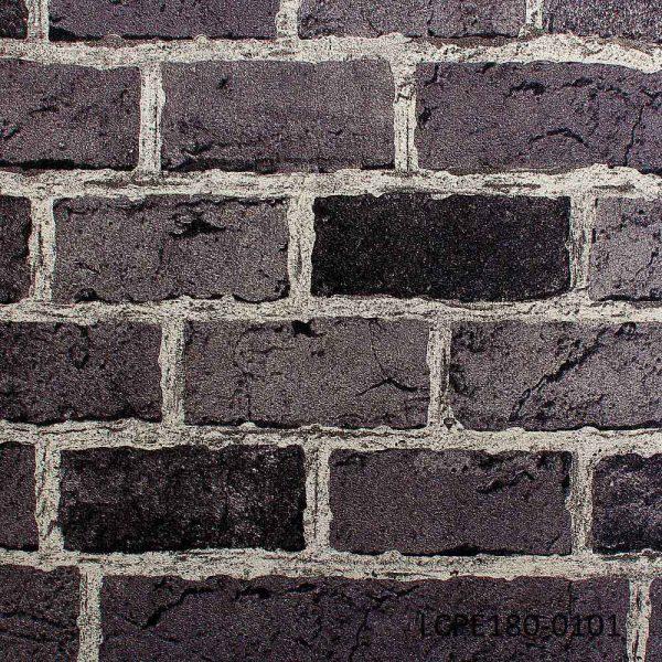LCPE180-0101 Black & grey wallpaper