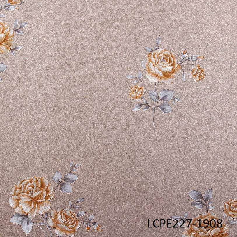 LCPE227-1908 Floral Wallpaper for home