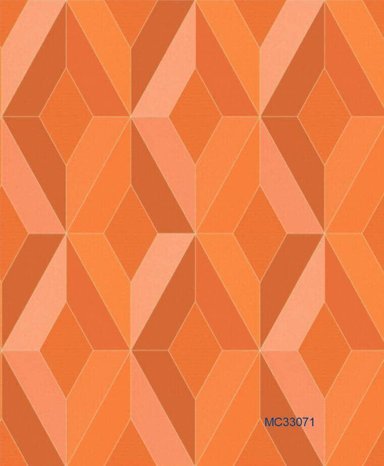 Orange 3d Wallpaper