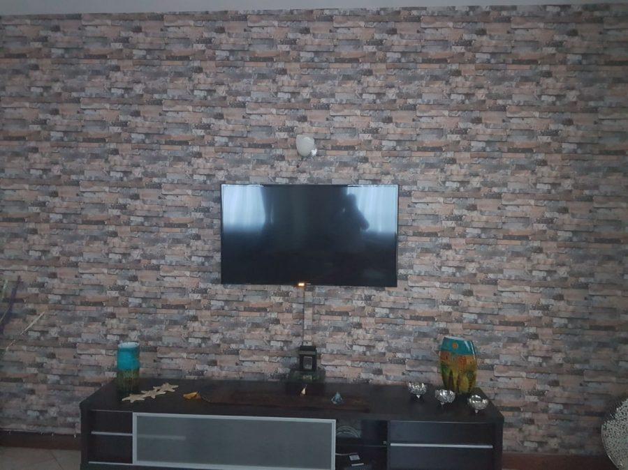 MT-2262 Rustic brick wallpaper