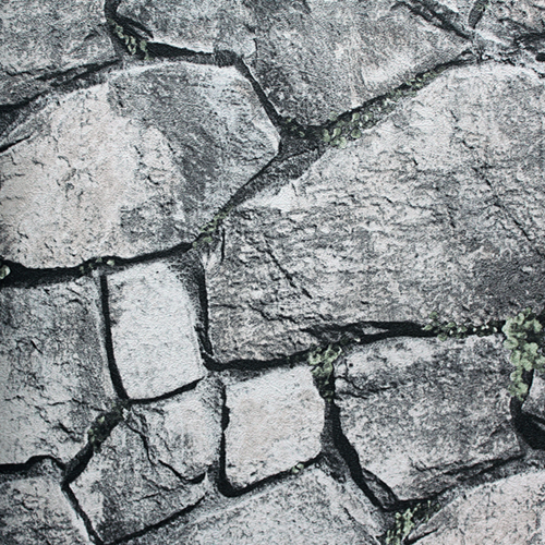 MT-2271 Grey brick wallpaper