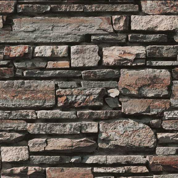Realistic Faux Brick Wall-Covering