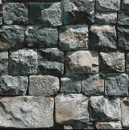 S-200131 Grey brick wallpaper