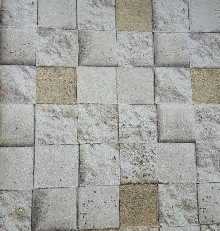 S-20173 Faux White brick wall