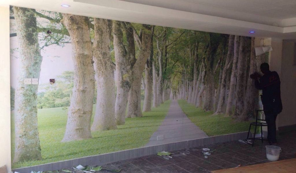 Scenery Wall Mural Wallpaper