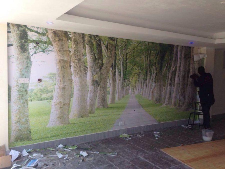 Scenery Wall Mural Wallpaper