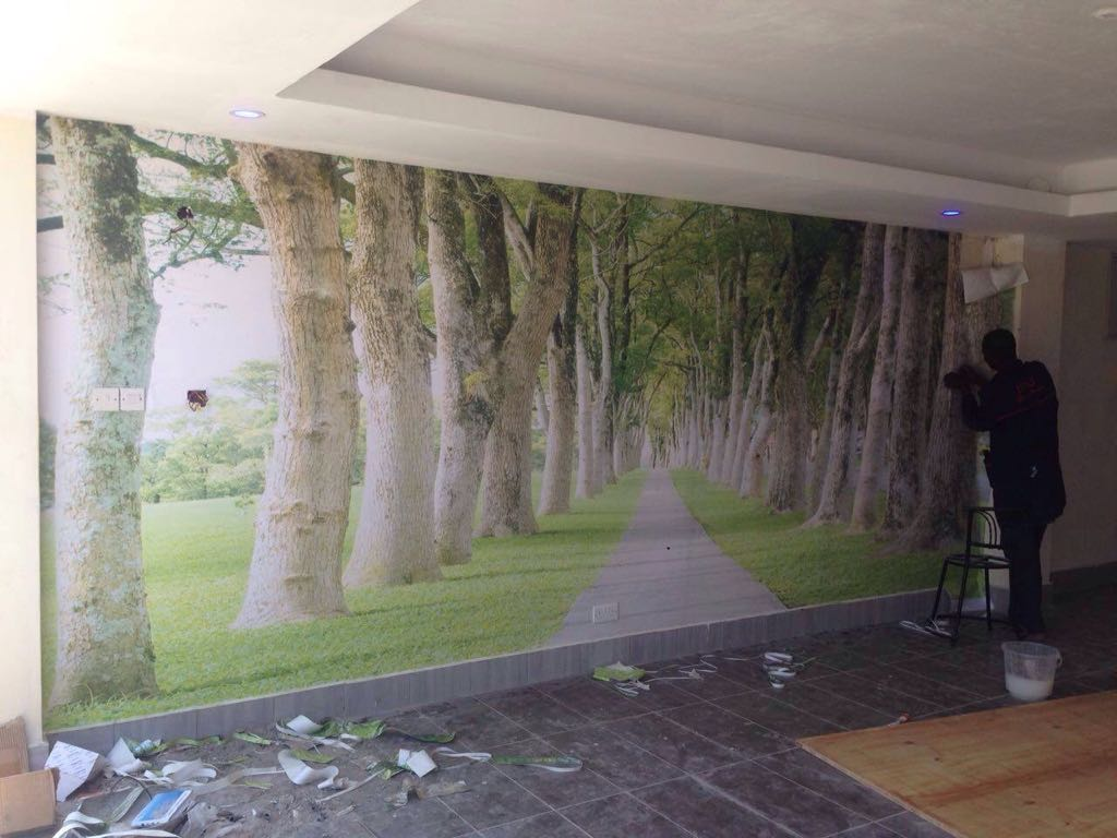 Scenery Wall Mural Wallpaper - Call: 0720271544 Wallpaper Kenya.