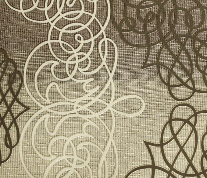 Striped Grey & White Wallpaper