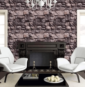brick style wallpaper S-20011
