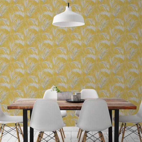 light yellow wallpaper