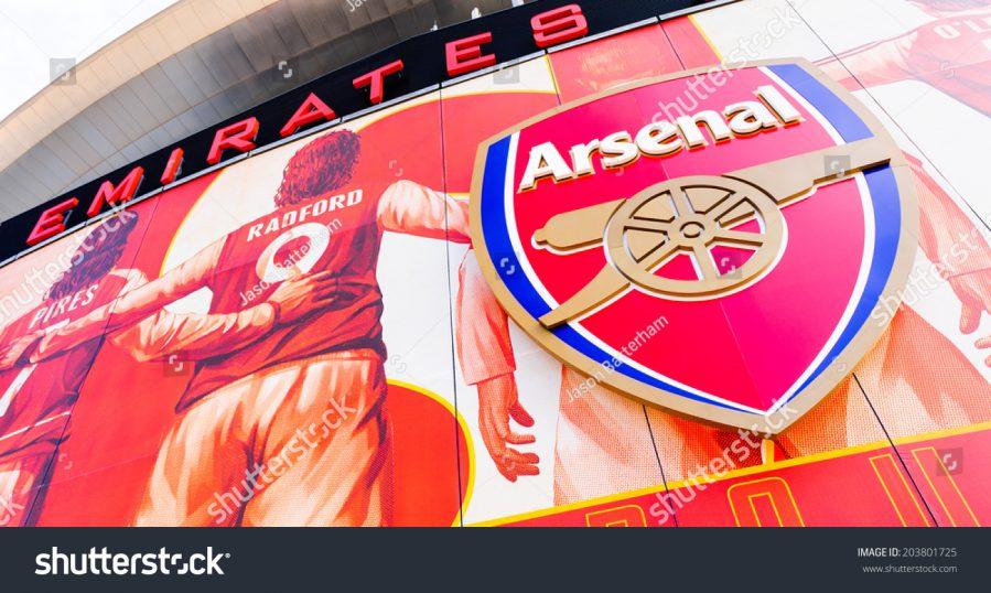 Arsenal Football wall mural