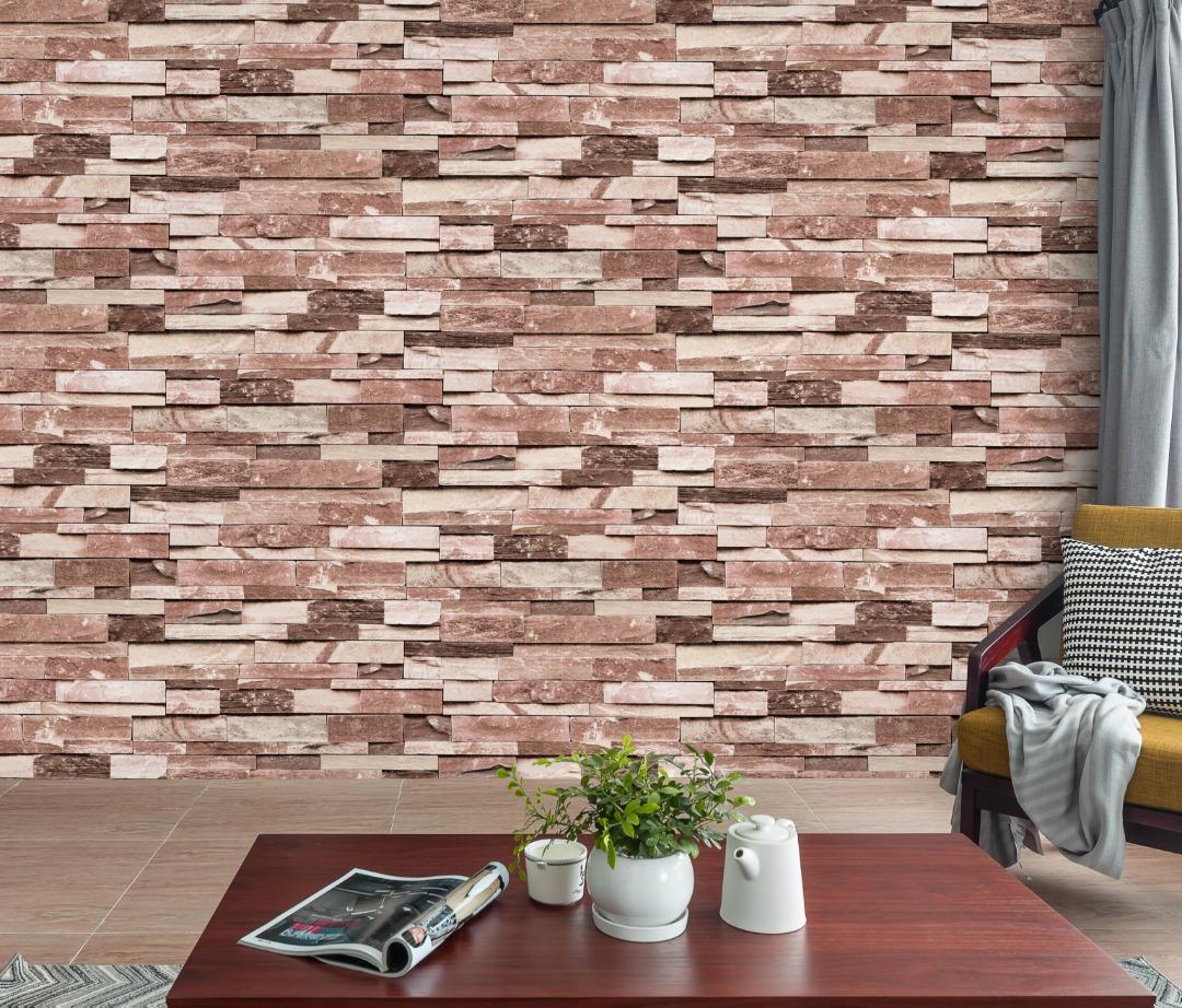 A22 20p02 Brick Wallpaper Living Room Call 0720271544