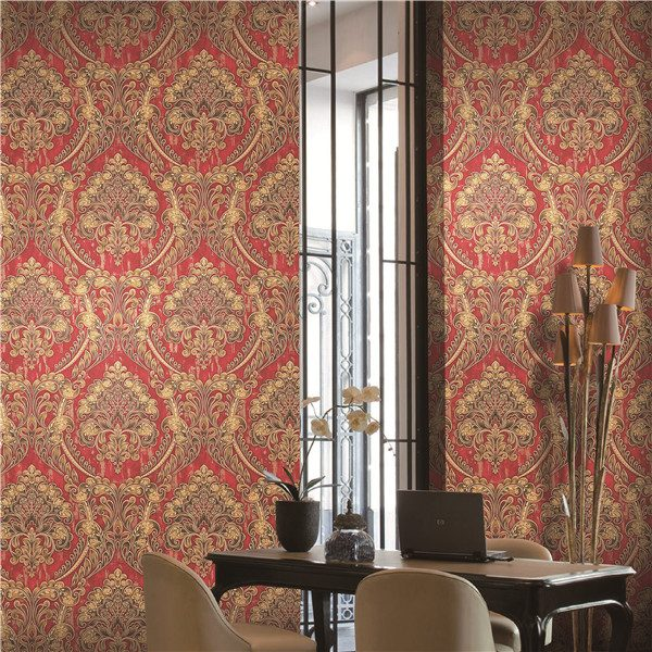 FA881504 Damask Wallpaper