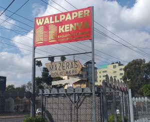 Wallpaper Kenya Langata Road Outdoor Signage