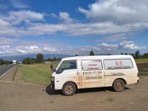 Wallpaper Kenya Delivery Van