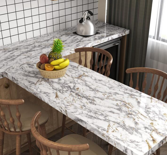 Self-adhesive contact paper counter top