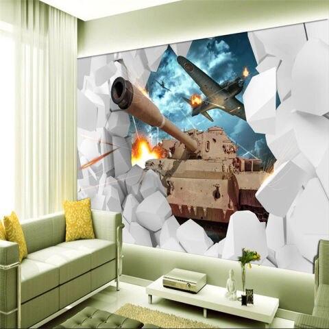 3d gaming room wall murals